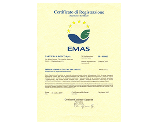 CertificatoEMAS_20092012